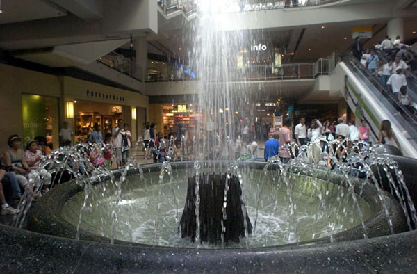 eaton centre fountain