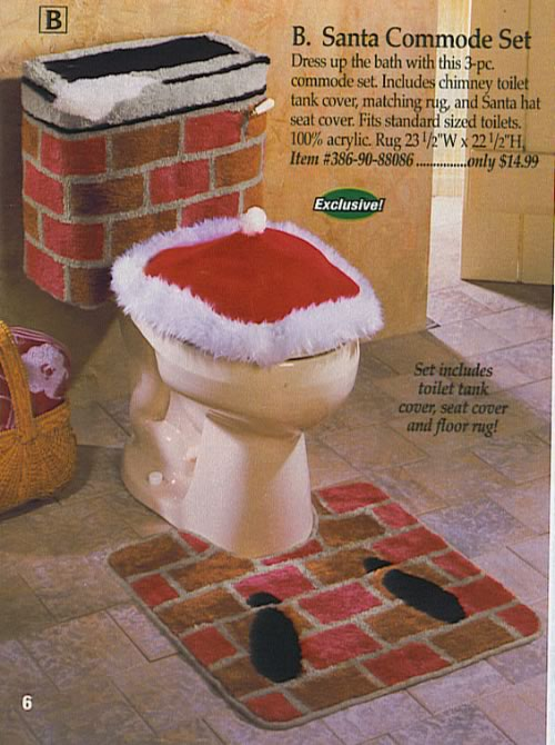Santa Commode Set