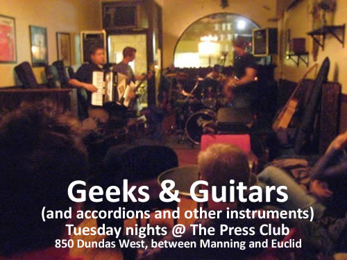 Geeks and Guitars