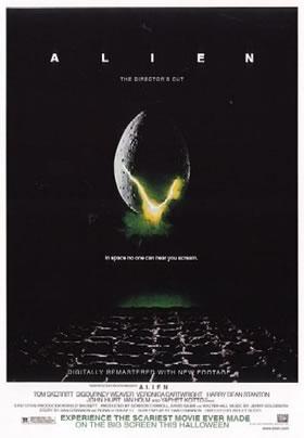 """U.S. poster for """"Alien"""""""