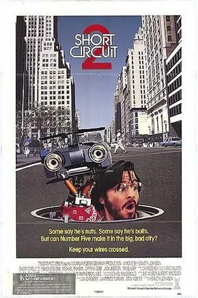 "U.S. poster for ""Short Circuit 2"