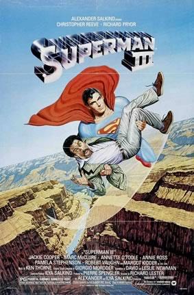 "U.S. poster for ""Superman III"""