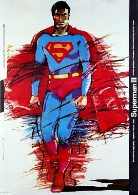 """Polish poster for """"Superman III"""""""