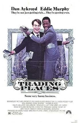 """U.S. poster for """"Trading Places"""""""