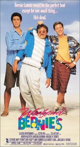 """U.S. poster for """"Weekend at Bernie's"""""""