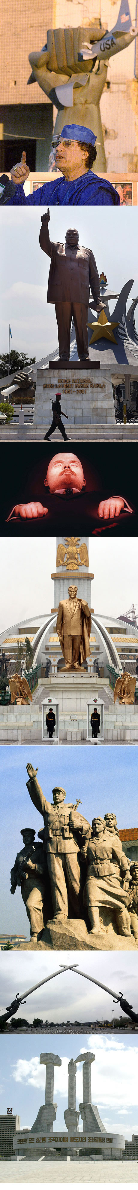 7 Wonders of the Totalitarian World