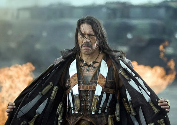 """Scene from the fake trailer """"Machete"""" from the movie """"Grindhouse"""""""
