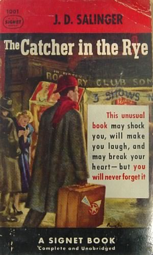 """Pulp"" cover of ""The Catcher in the Rye"""