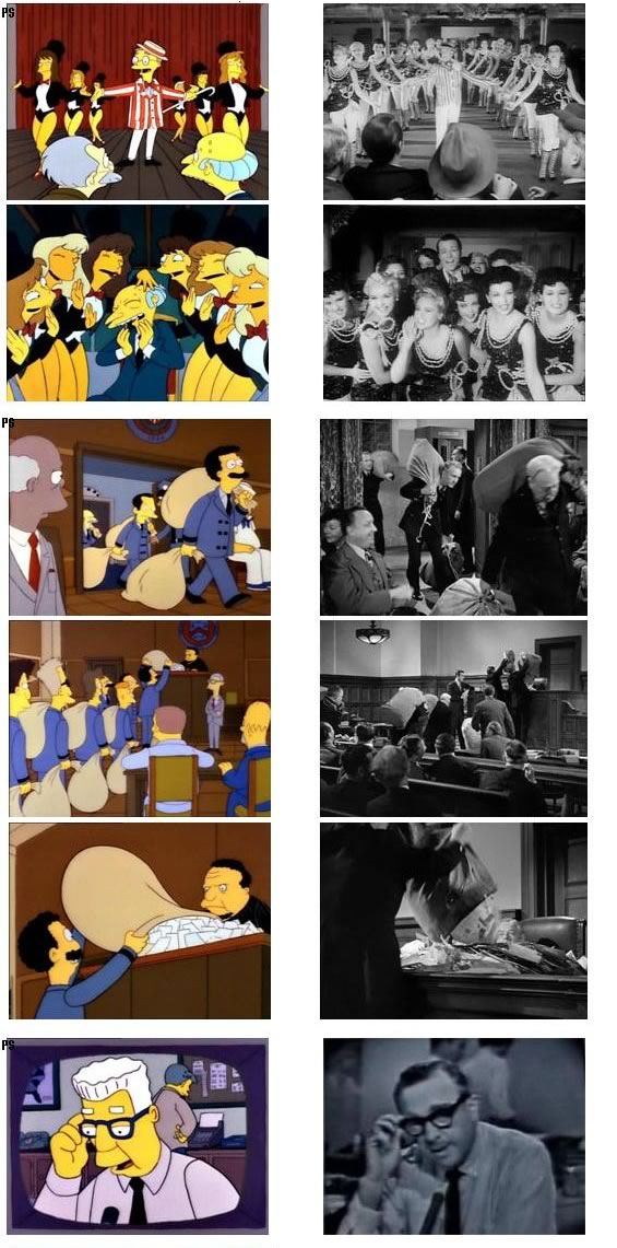 Quot Simpsons Quot Scenes And Their Reference Movies Updated