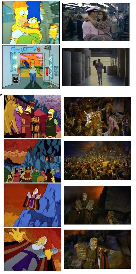 """""""Simpsons"""" Scenes and their Reference Movies [Updated ...   565 x 1135 jpeg 127kB"""