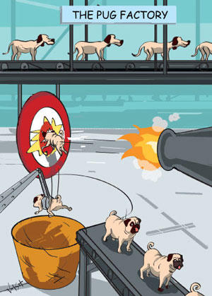 Comic: The Pug Factory