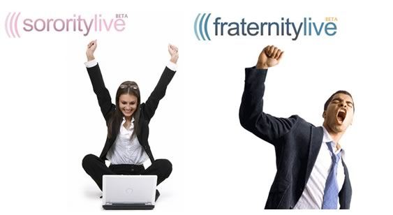 People from the SororityLive and FraternityLive home pages