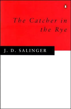 "Penguin books cover of ""The Catcher in the Rye"""