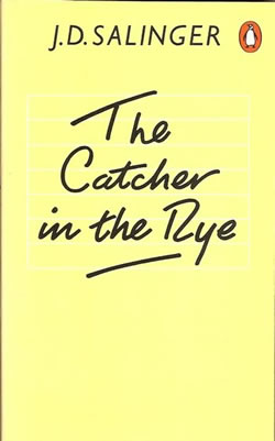 "Another Penguin books cover of ""The Catcher in the Rye"""