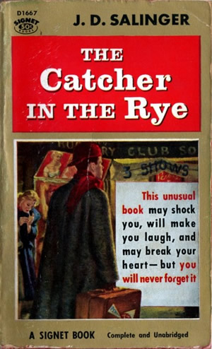 "Variant of the ""Pulp"" cover of ""The Catcher in the Rye"""