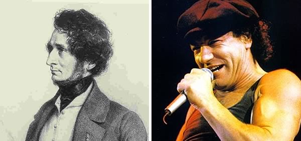 Hector Berlioz and AC/DC's Brian Johnson