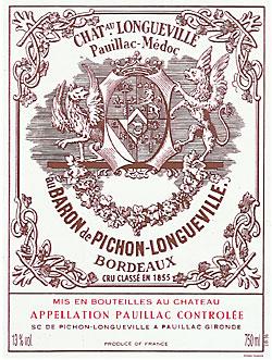 Chateau Pichon-Longueville label