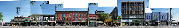 Preview image of Queen/Bathurst panoramic shot