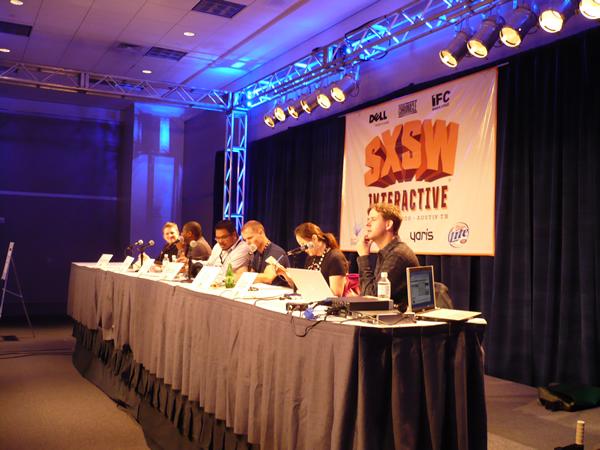"The ""How to Rawk SxSW"" panelists"