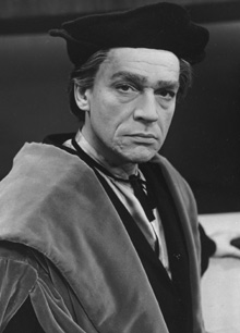 "Paul Scofield as Sir Thomas More in ""A Man for All Seasons"""