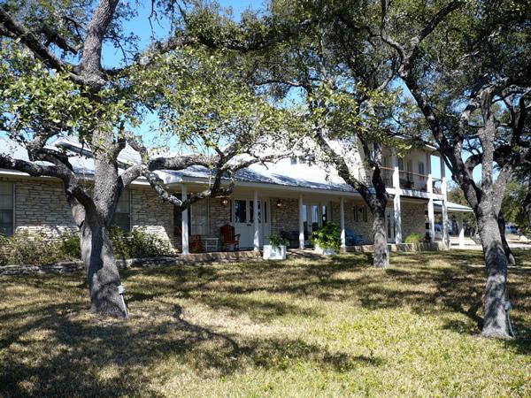 Ranch house exterior shot
