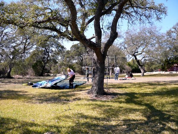 Ranch yard shot