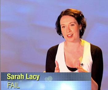 Sarh Lacy: Fail