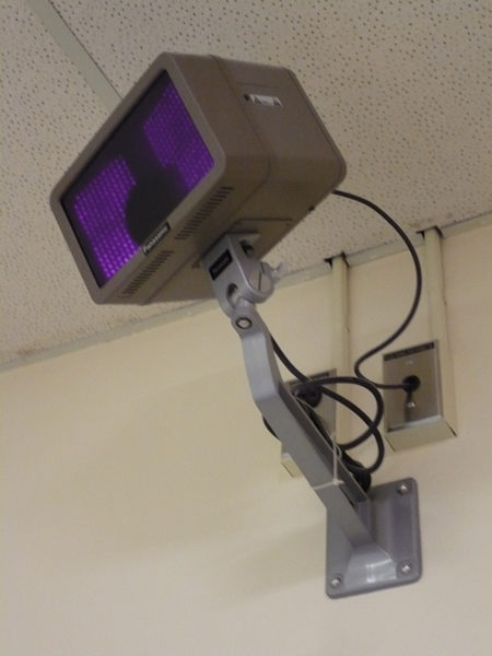 Camera in the sleep lab at St. Joseph's Health Centre, Toronto.