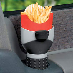 "French Fry Holder, for sale at ""Improvements"""