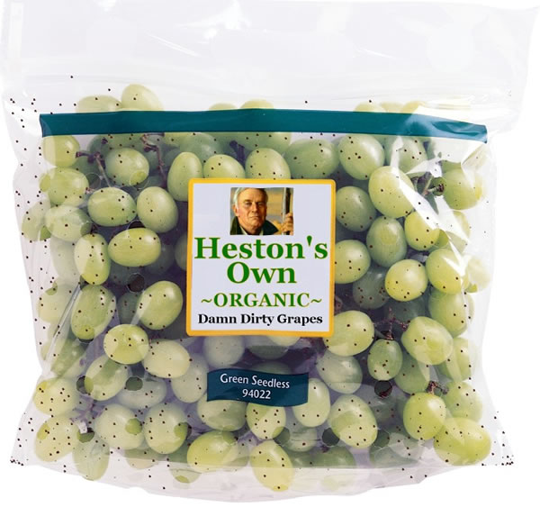 Heston's Own Organic Damn Dirty Grapes