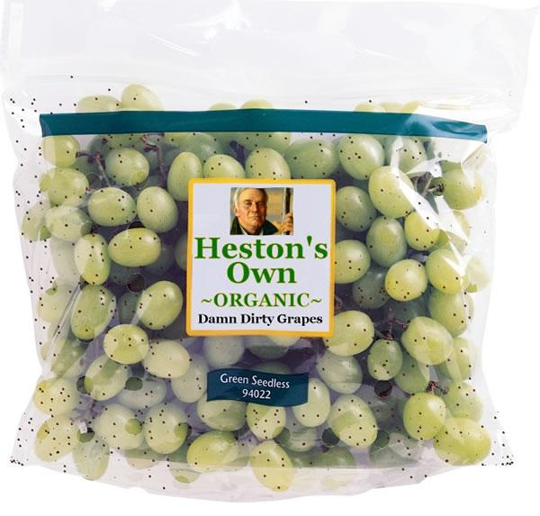 Heston's Own Organic Damn Dirty Grapes