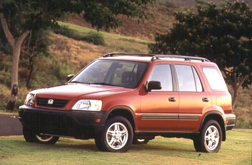 Red 1998 Honda CR-V