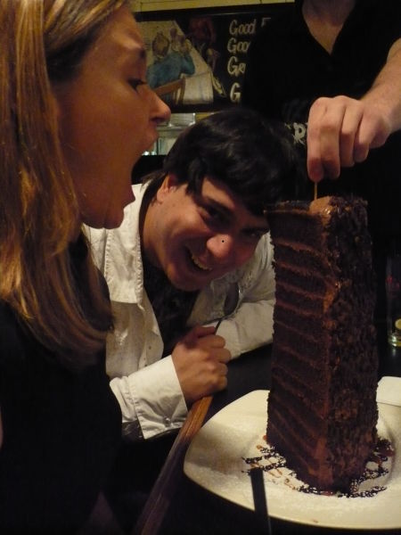 "Darcie Vany, Jeremy Wright and a slice of ""Colossal Cake"""