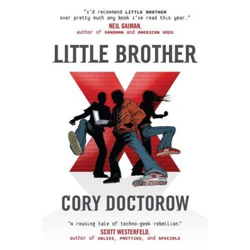 """Cover of Cory Doctorow's novel, """"Little Brother"""""""