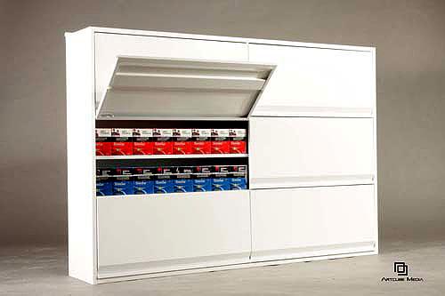 Artcube cigarette cabinets