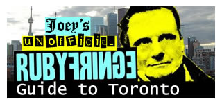 Joey\'s Unofficial Ruby Fringe Guide to Toronto - Small logo