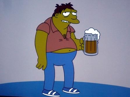Barney Gumble slide