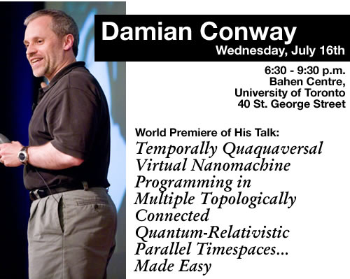 Damian Conway - July 16, 2008