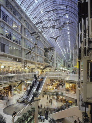 Eaton Centre interior