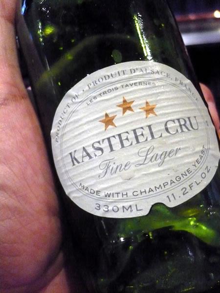 Kasteel Cru label