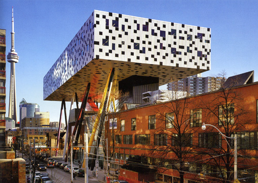 OCAD\'s Sharp Centre Building