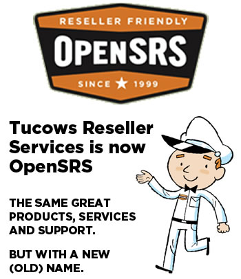 Tucows\' new OpenSRS graphics
