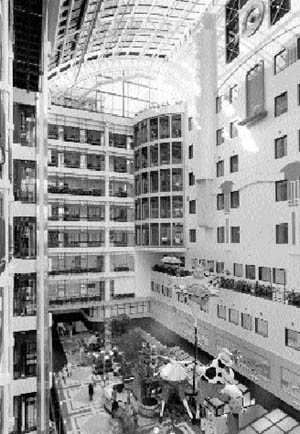 Atrium of the Sick Kids hospital