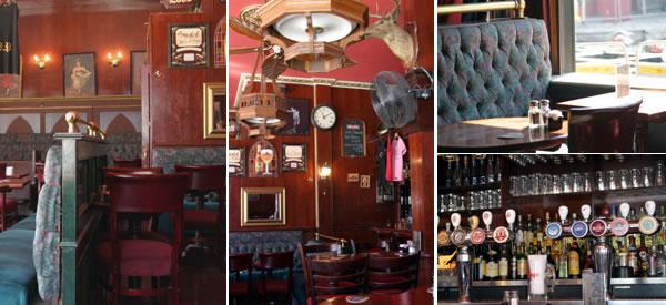 Interior shots of The Village Idiot Pub