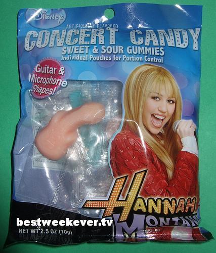 Hannah Montana Gummis