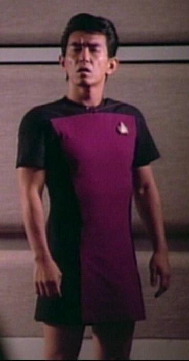 Star Trek: TNG crewmember in a skant