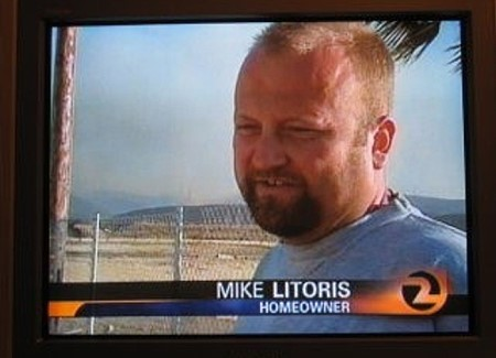 """Mike Litoris"" on TV news"