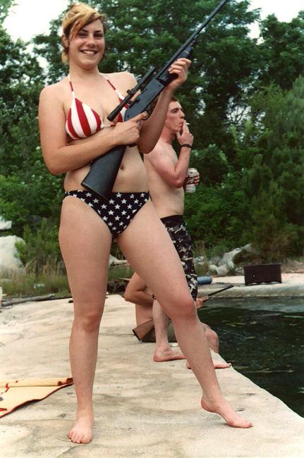 Sarah Palin Bikini Photo. Not Sarah Palin, but probably