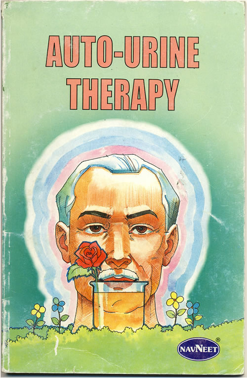 """Front cover of the book """"Auto-Urine Therapy"""""""