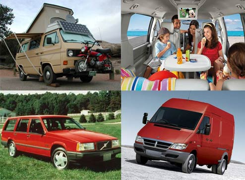 Cars you can live in after your house has been repossessed